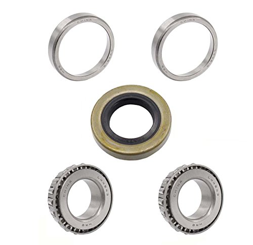 1 Front Axle Bearing & Seals Wheel For EZGO Hub 1976 & UP GAS & ELEC