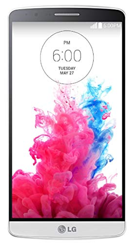 LG G3 D850 32GB Unlocked GSM 4G LTE Quad-HD Smartphone w/ 13MP Camera - Silk White (Renewed)