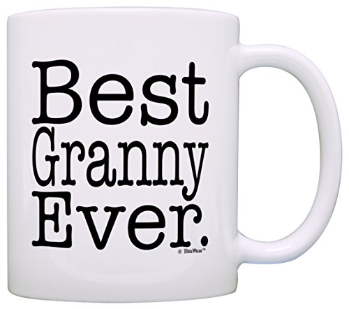Mothers Grandma Granny Coffee White