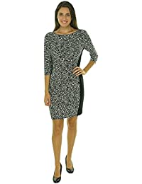 Lauren Ralph Lauren Womens Petites Printed 3/4 Sleeves Cocktail Dress