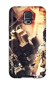 Leslie Hardy Farr's Shop Top Quality Case Cover For Galaxy S5 Case With Nice Attack On Titan Appearance 1792803K73202838