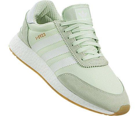 adidas Iniki Runner Womens In Aero Green/White, 9 by adidas (Image #4)