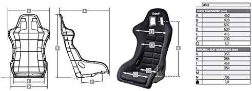 Sabelt SBRFSEGT3N 2018 FIA GT3 Sitz