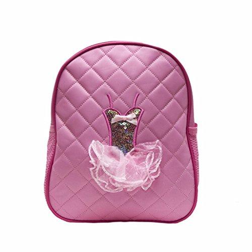 Backpack Quilted Sequin Ballerina Medium