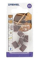 Dremel 431 - Pack de 6 bandas de lijar (6,4 mm, grano 60)
