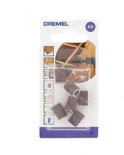 Dremel 432 - Pack de 6 bandas de lijar (13 mm, grano 120) Bosch 2615043232