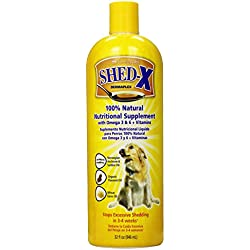 SynergyLabs SHED-X Dermaplex Shed Control 100% Natural Nutritional Supplement for Dogs; 32 fl. oz.