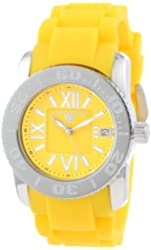 Swiss Legend Women's 10114-07 Commander Yellow Dial Yellow Silicone Watch
