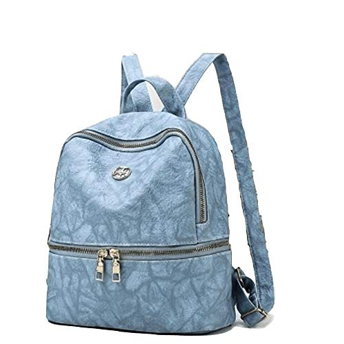 pour Femme Backpack Bleu Dos à porté Sac Goooodtrry Goooodtrry au Bleu Main Bleu qZ11YwR