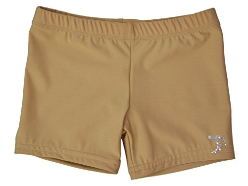 Sookie Active Premium Micro Nylon Spandex Youth Shorts (Youth 6-8) ()