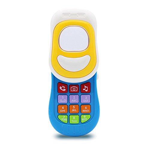 Transformania Toys Kids Fun Music Smartphone Electronic Mobile Phone Baby STEM Developmental Music Toy for Children Boys Girls by Transformania Toys