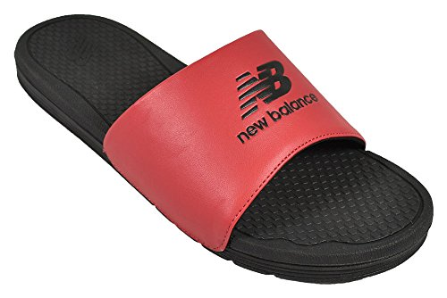 New Balance- NB Pro Slides Closeout Black/Team Red Size 13 M