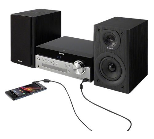 sony micro home audio system with wireless nfc bluetooth. Black Bedroom Furniture Sets. Home Design Ideas