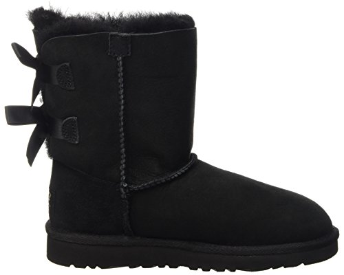 Bailey Black Child Unisex Black Boots UGG Bow qv4txUP7xw