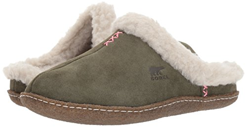 Women's Sorel Nakiska Slide Stone Nori Slipper Dark 8wU7qdg