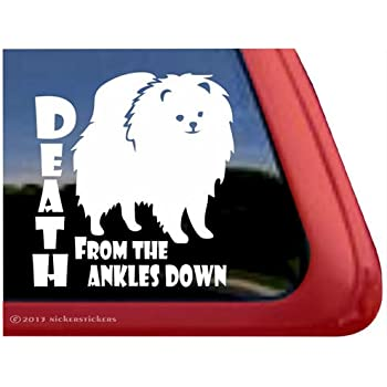 Amazon Com Death From The Ankles Down Vinyl Pomeranian