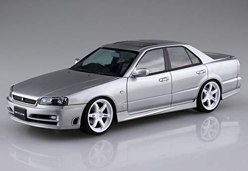 青島文化教材社 1/24 ザ・モデルカーシリーズ SP ニッサン ER34 スカイライン25GT ターボ 2001 カスタムホイール プラモデルの商品画像