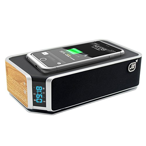 Je Qi Stereo Bluetooth 4 0 Edr Speaker Wireless Charger