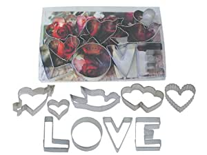 R & M Love 9 Piece Cookie Cutter Set