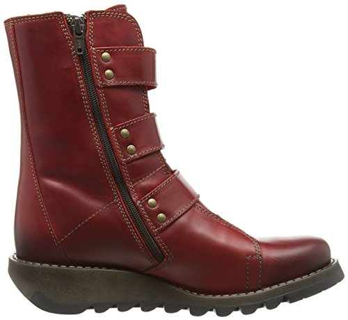 Fly London Rosso 004 Stivali Red Donna scop110fly wHxqprwa