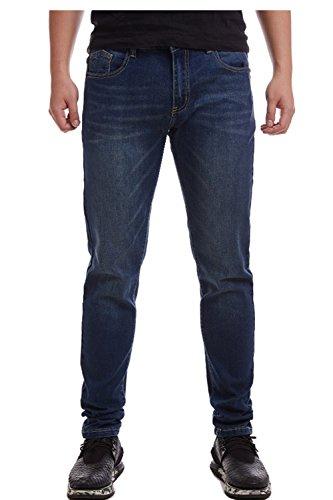 Dream wings Men's 505 Regular 511 Classic 550 Relaxed Cowboy Cut Original 520 Slim Fit Jean (38W×31L, Underwater Canyon)