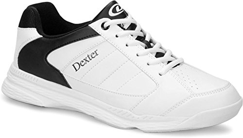Dexter Men's Ricky IV Wide Bowling Shoes, White/Black, Size 10 by Dexter