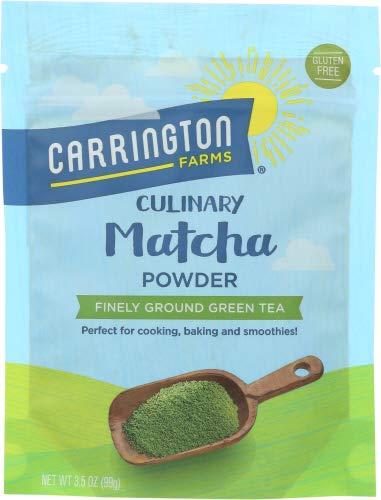 Carrington Farms Calinary Matcha Powder 3.5 OZ (Pack of 4)