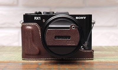 CIESTA Leather Camera Case & Cap Skin CSJ-RX1-02 (Dark Brown) For Sony RX1/RX1R