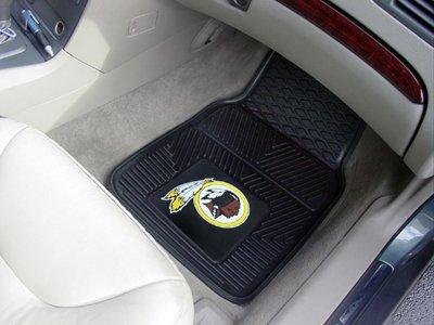 Washington Redskins 2 Piece Car (NFL - Washington Redskins Heavy Duty 2-Piece Vinyl Car Mats)