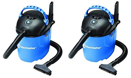 Vacmaster 2.5 Gallon, 2 Peak HP, Portable Wet/Dry Vacuum, VP205 (2-(Pack))