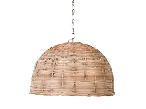 KOUBOO 1050104 Dome Hanging Ceiling Lamp, One Size, Wheat ()