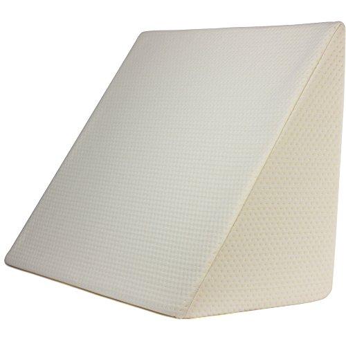 Purovi® Hochwertiges Lesekissen - Keilkissen - Rückenstütze für Bett und Couch