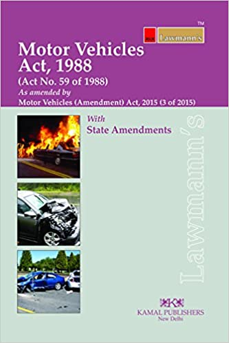 Buy Motor Vehicles Act 1988 Lawmann S Book Online At Low Prices
