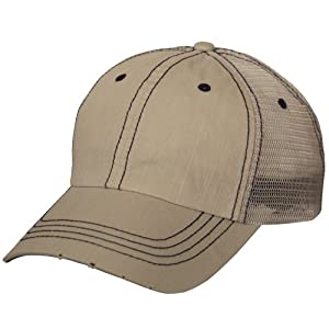 Lightweight Vintage Style Washed Mesh Trucker Baseball Cap Hat