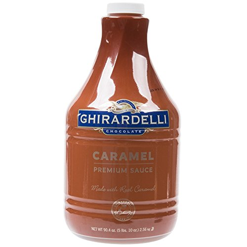 Ghirardelli Caramel Sauce (1-90.4-Ounce Bottle of Syrup) by Ghirardelli
