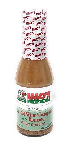 Imo's Pizza | Red Wine Vinaigrette with Romano Cheese Salad Dressing | 12 Fl Oz/355 Ml - Wine Dressing Vinaigrette