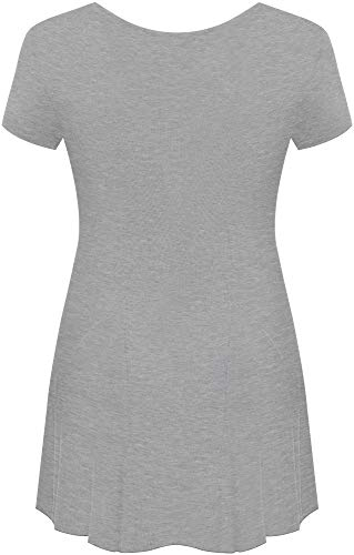 WearAll shirt Grigio T T shirt Donna WearAll Grigio Donna 4wvxqB7wC
