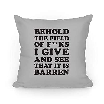 Behold The Field of FKS I Give Square Decorative Cushion Cover