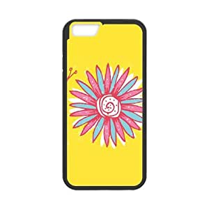 iPhone 6 Plus 5.5 Inch Cell Phone Case Black Lazy Daisy Hdfqq