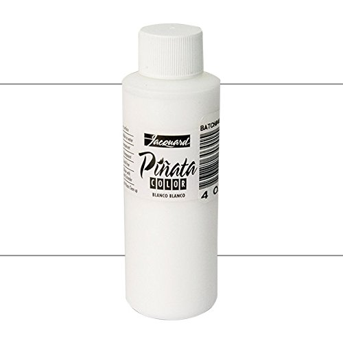 Pinata Blanco Blanco Alcohol Ink that by Jacquard, Professional and Versatile Ink that Produces Color-Saturated and Acid-Free Results, 4 Fluid Ounces, Made in the USA