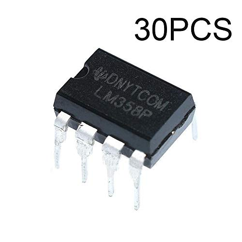 (PoiLee 30pcs IC LM358 Operational Amplifier LM358N LM358P DIP-8 Dual op-amp)