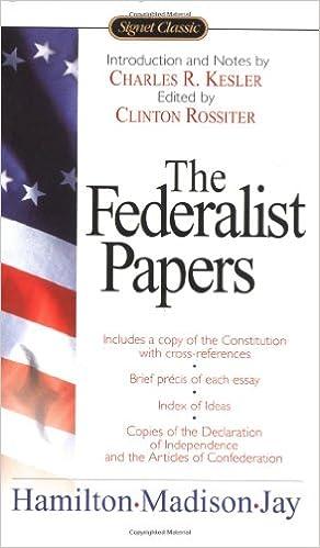 The federalist essays