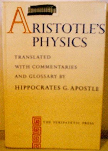 Aristotle's Physics, Aristotle