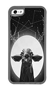 Apple Iphone 5C Case,WENJORS Unique The Banyan Deer Soft Case Protective Shell Cell Phone Cover For Apple Iphone 5C - TPU Transparent by icecream design