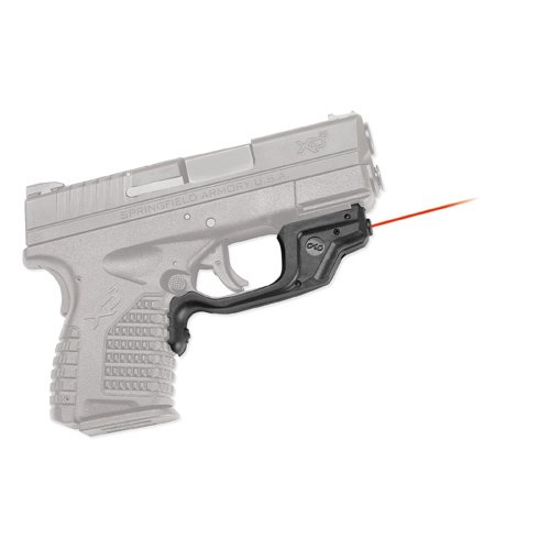 Crimson Trace LG-469 Laserguard Red Laser Sight for Springfield Armory XD-S Pistols (Springfield Armory Xdm Compact 9mm For Sale)