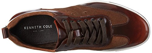 Kenneth Cole Men's Down The Hatch Low-Top Sneakers Braun (Brown Combo 215) s8D3y