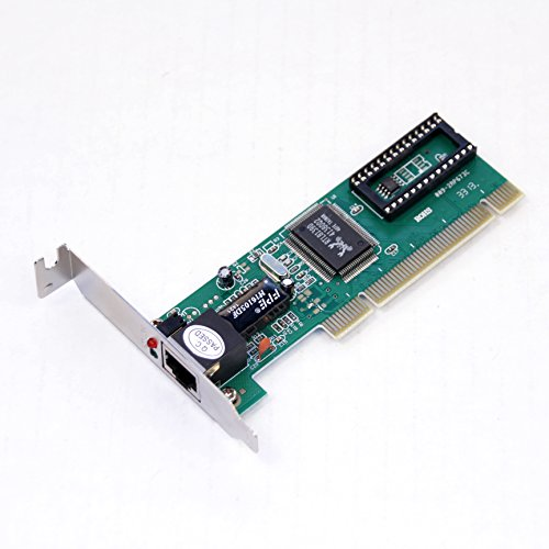 Realtek RTL8139D 10/100M Low-Profile Fast Ethernet Network Interface Card NIC (Driver Download) by Power Depot