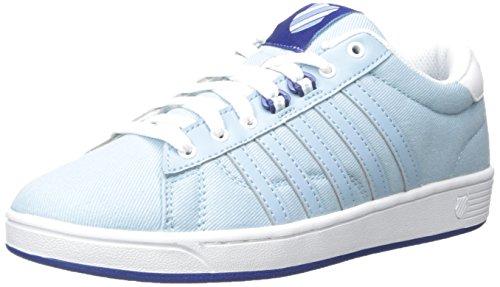 K-Swiss Women's Hoke T Cmf Fashion Sneaker, Dream Blue/Limoges/White, 9.5 M US