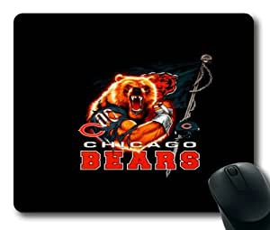 NFL Logo Chicago Bears Mouse Pad/Mouse Mat Rectangle by ieasycenter