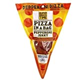 Super Snack Time Pizza in a Bag | 3-Pack Jerky Bundle | Jerky That Tastes Like Pizza! | Keto Friendly | USA Made (Pepperoni Jerky | 3 Pack)